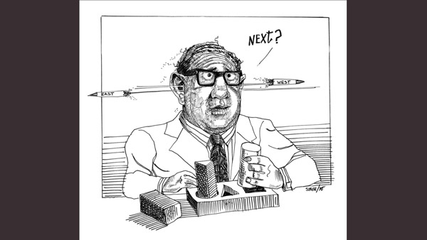 Henry Kissinger (National Security Advisor 69-77 under Nixon and Ford):
